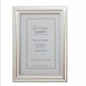 Eccolo World Traveler Silverplate Classic Frame